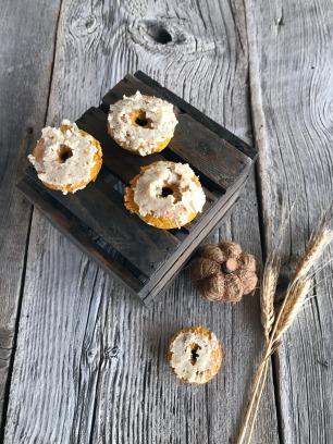 Pumpkin Protein Donuts 3