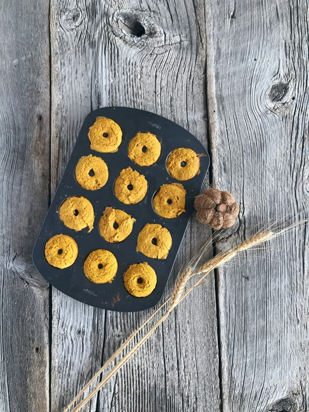 Pumpkin Protein Donuts 8